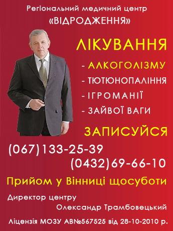 Бізнес-схеми всіх райцентрів Вінницької області