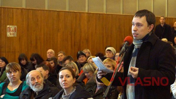 пропонував назвати іменем загиблого в АТО вінничанина Тараса Сича. Пропозицію не підтримали, вулиця матиме ім'я Івана Хоменка.