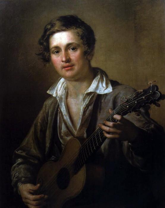 картина Гітарист Василя Тропініна фото