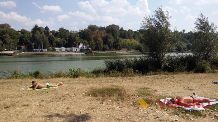 пляж Спартак у Вінниці фото