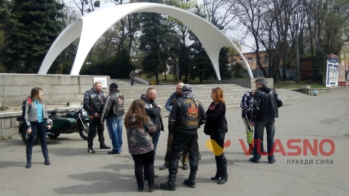 акція вінницьких байкерів Обережно мотоциклісти фото