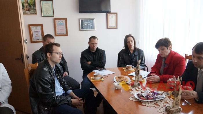 перевірка Вінницького госпіталю інвалідів війни фото