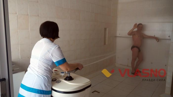 гідромасаж у Вінницькому госпіталі інвалідів війни фото