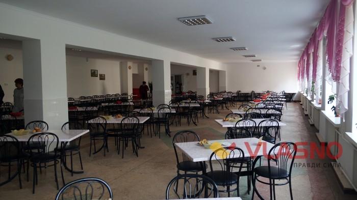їдальня у Вінницькому госпіталі інвалідів війни фото