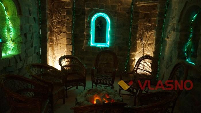 соляна печера у Вінницькому госпіталі інвалідів війни фото