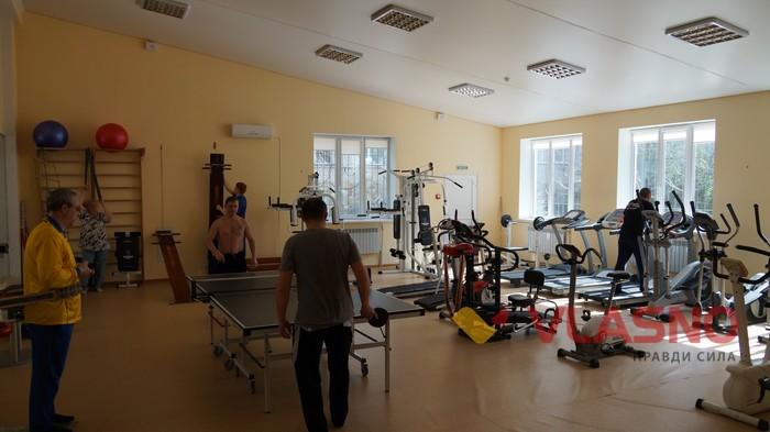 спортзал у Вінницькому госпіталі інвалідів війни фото