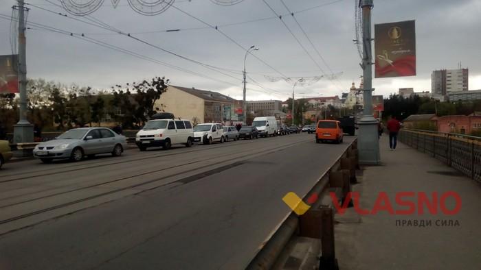 обрив електропроводів у Вінниці фото