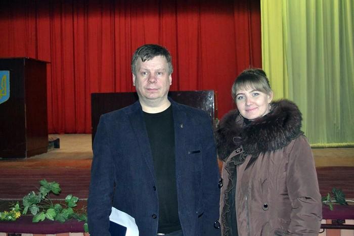 Наталія Муравинець та Валерій Скрипченко фото