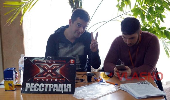 кастинг X фактора у Вінниці фото