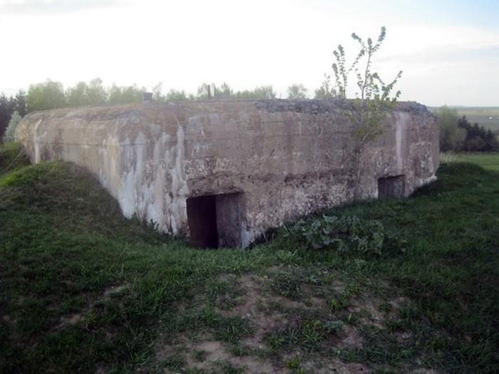 дзот у селі Думенки фото