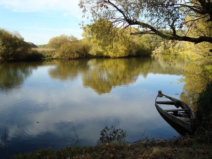 річка у селі Думенки фото