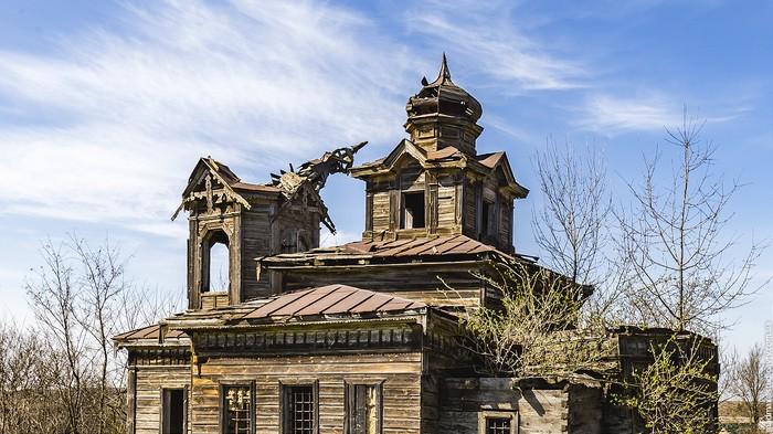 Покровська церква у Малій Ростівці фото