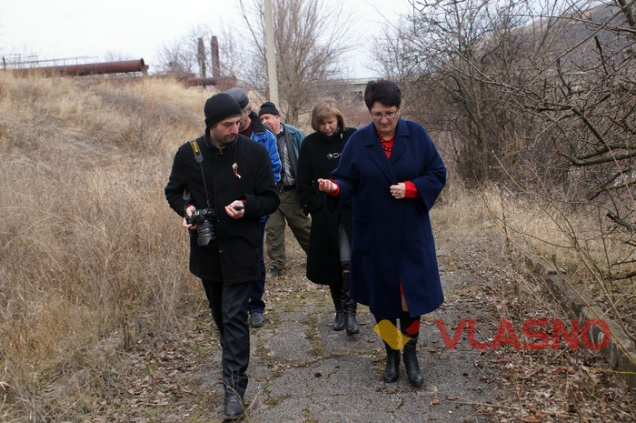 делегація у Цекинівці фото
