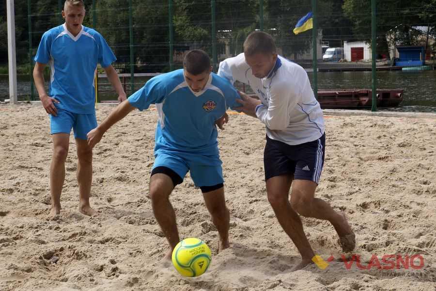 У суботу на стадіоні МДЮСШ №2 пройде черговий Чемпіонат міста з пляжного футболу