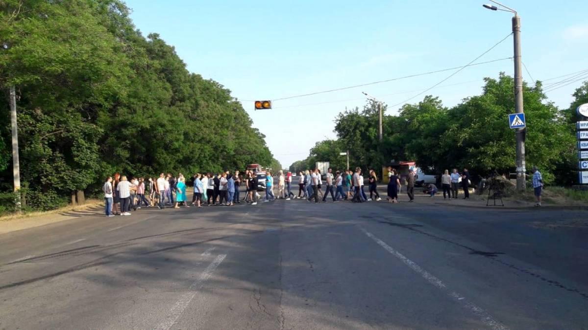 У четвер вранці на Коновальця люди мають намір перекрити виїзд з міста