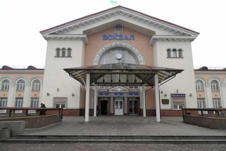 Вінницький залізничний вокзал фото